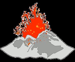 Volcano PNG Transparent Image PNG Clip art