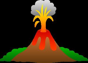 Volcano Transparent Background PNG Clip art