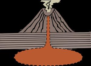 Volcano Transparent PNG PNG Clip art