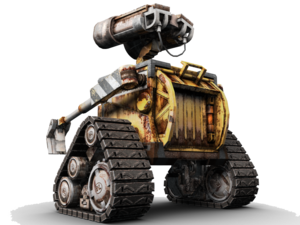 Wall-E Transparent Background PNG Clip art