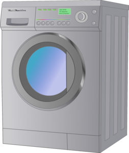 Washing Machine PNG Transparent Picture Clip art