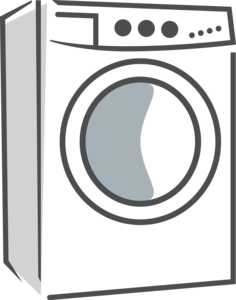 Washing Machine Transparent Background PNG Clip art