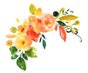 Watercolor Flowers PNG File Download Free PNG Clip art