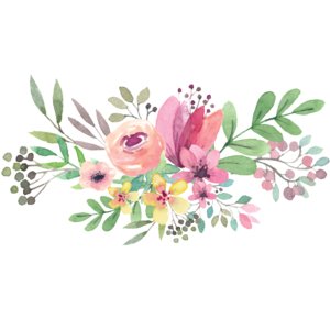Watercolor Flowers PNG Transparent File PNG Clip art