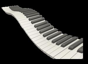 Wavy Piano Keys PNG PNG Clip art