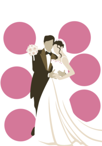 Wedding Couple PNG File PNG Clip art