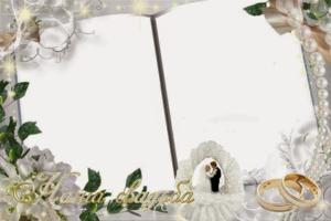 Wedding Frame PNG Transparent Image PNG Clip art