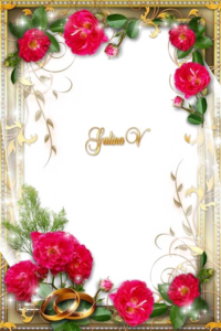 Wedding Frame PNG Transparent Clip art