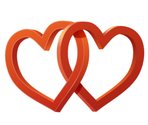 Wedding Heart PNG File PNG icons