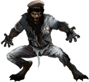 Werewolf PNG Pic PNG Clip art
