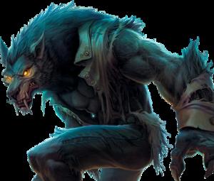 Werewolf Transparent PNG PNG Clip art