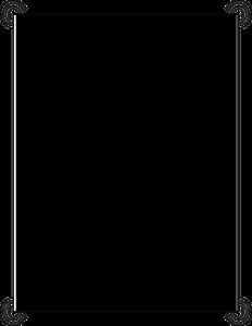 White Border Frame PNG Photo PNG Clip art