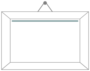White Border Frame PNG Picture PNG clipart