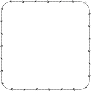 White Border Frame Transparent Background PNG Clip art