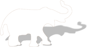 White Elephant PNG File PNG Clip art