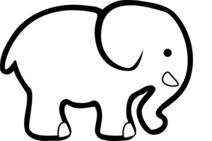 White Elephant PNG Free Download PNG Clip art