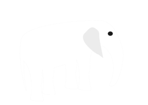 White Elephant PNG HD PNG Clip art