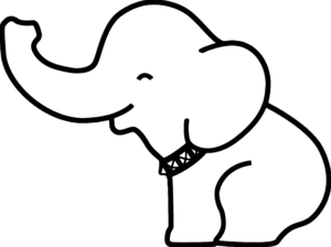 White Elephant PNG Image PNG Clip art