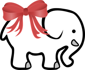 White Elephant PNG Photo PNG Clip art