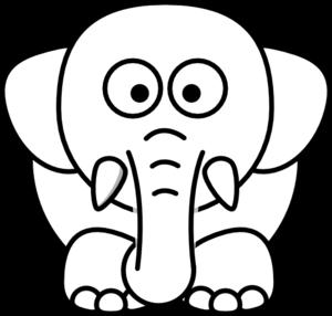 White Elephant PNG Transparent Clip art
