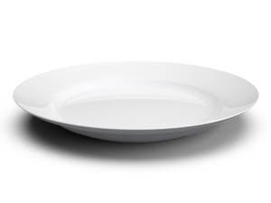 White Plate PNG Free Download PNG clipart