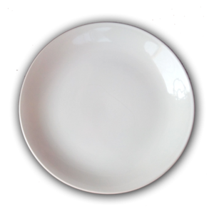 White Plate Transparent Background PNG clipart