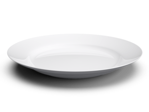White Plate Transparent PNG PNG Clip art
