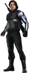 Winter Soldier Bucky PNG File PNG Clip art