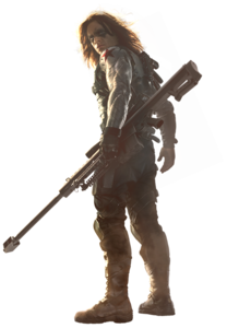 Winter Soldier Bucky PNG HD PNG Clip art