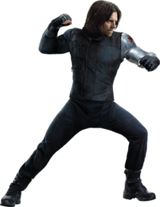 Winter Soldier Bucky PNG Image PNG Clip art