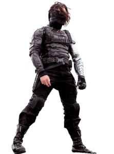 Winter Soldier Bucky Transparent Background PNG Clip art