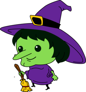 Witch Face PNG File PNG Clip art