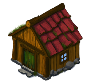 Wooden House PNG File PNG Clip art