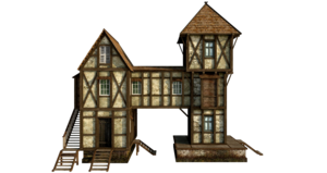 Wooden House PNG Free Download PNG icon