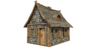 Wooden House PNG Picture PNG Clip art
