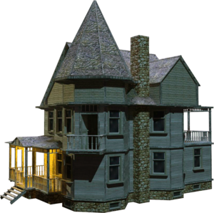 Wooden House PNG Transparent PNG icon