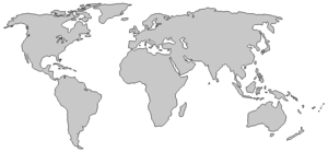 World Map PNG Transparent Image PNG icon