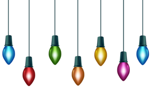 Xmas Lights PNG File PNG Clip art