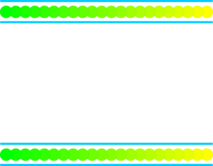 Yellow Border Frame PNG Clipart PNG Clip art