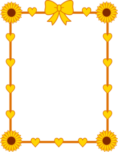 Yellow Border Frame PNG Photo PNG Clip art