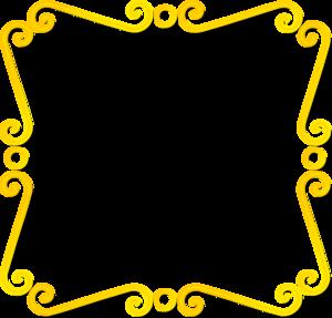 Yellow Border Frame PNG Photos PNG Clip art