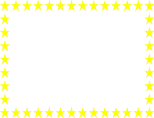 Yellow Border Frame PNG Pic PNG Clip art
