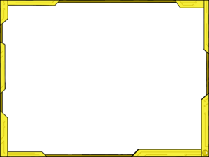 Yellow Border Frame PNG Picture PNG Clip art