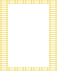 Yellow Border Frame PNG Transparent Image PNG Clip art
