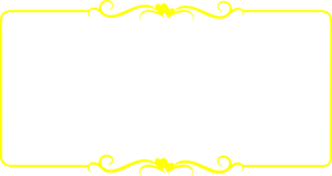 Yellow Border Frame PNG Transparent Picture PNG Clip art