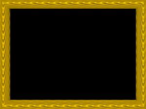 Yellow Border Frame PNG Transparent PNG Clip art