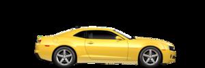 Yellow Camaro PNG File PNG Clip art