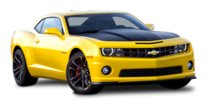 Yellow Camaro PNG Picture PNG Clip art