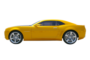 Yellow Camaro Transparent Background PNG Clip art