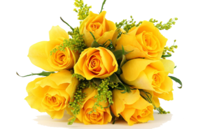 Yellow Flowers Bouquet PNG Photos PNG Clip art